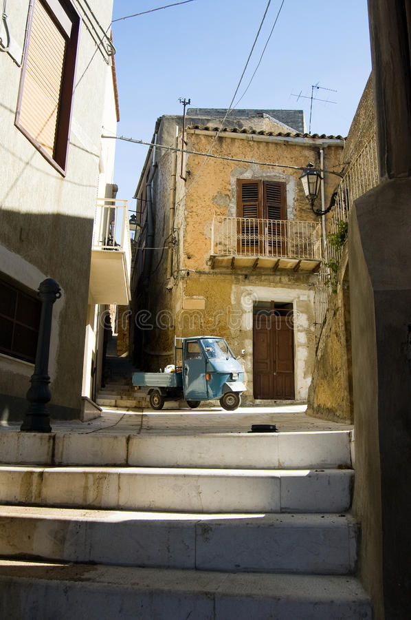 Free Italy, Sicily Street View Stock Photography - 9668982