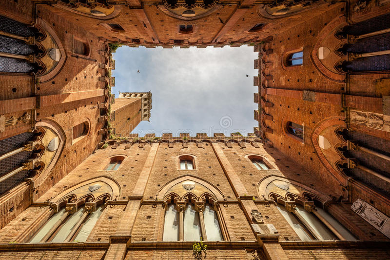 italy siena fotografering för bildbyråer