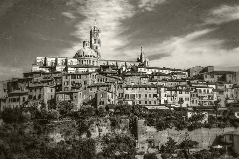 italy Siena Tuscany zdjęcia royalty free