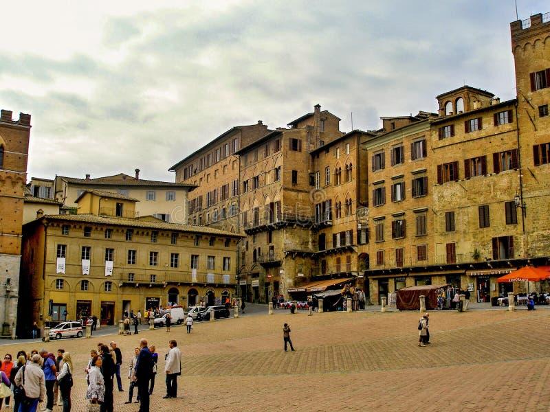 italy siena Tuscany Italien royaltyfri foto