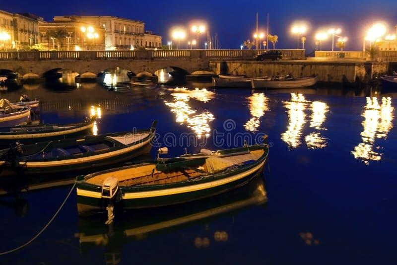 Italy - Siracusa velhos clássicos, Sicília foto de stock royalty free