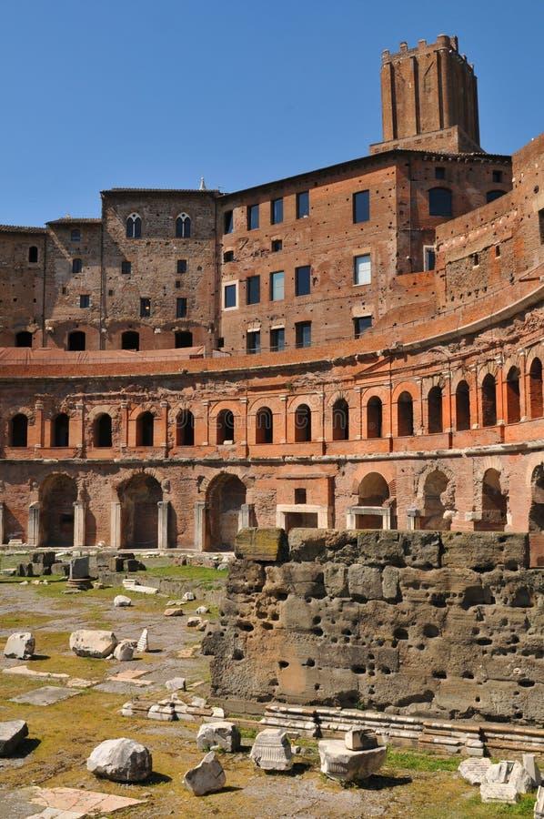 italy trajan targowy Rome s zdjęcia stock