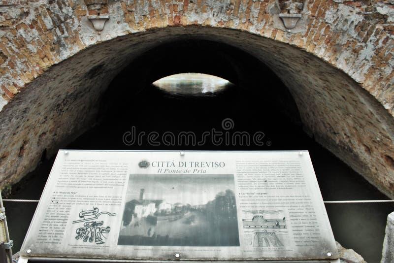 Italy, Treviso city. royalty free stock photography