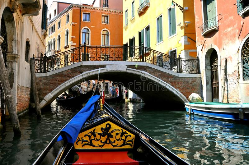 italy turism venice royaltyfri foto