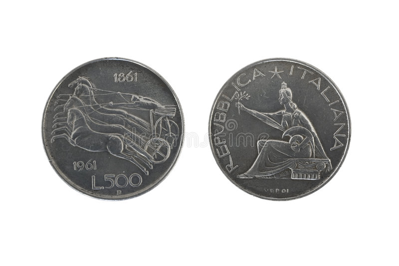 Download Italy union silver coins 2 stock image. Image of argento - 7624503