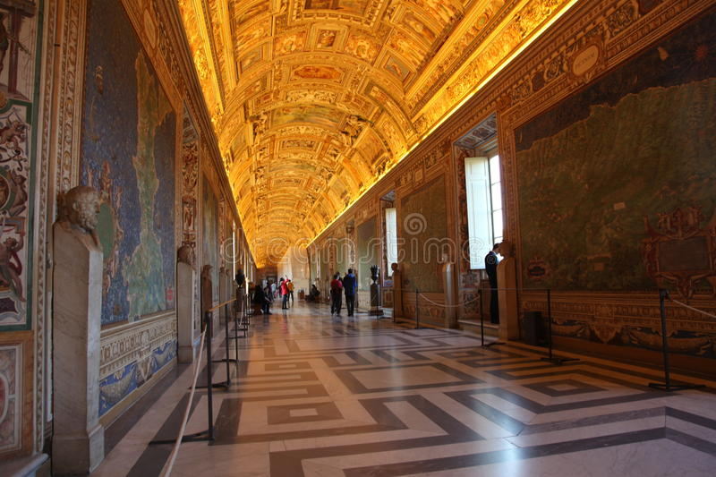 Italy. Vatican Museums stock image