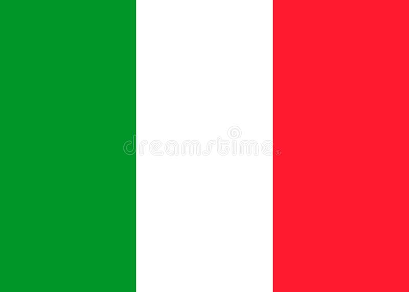 Italy vector flag vector illustration