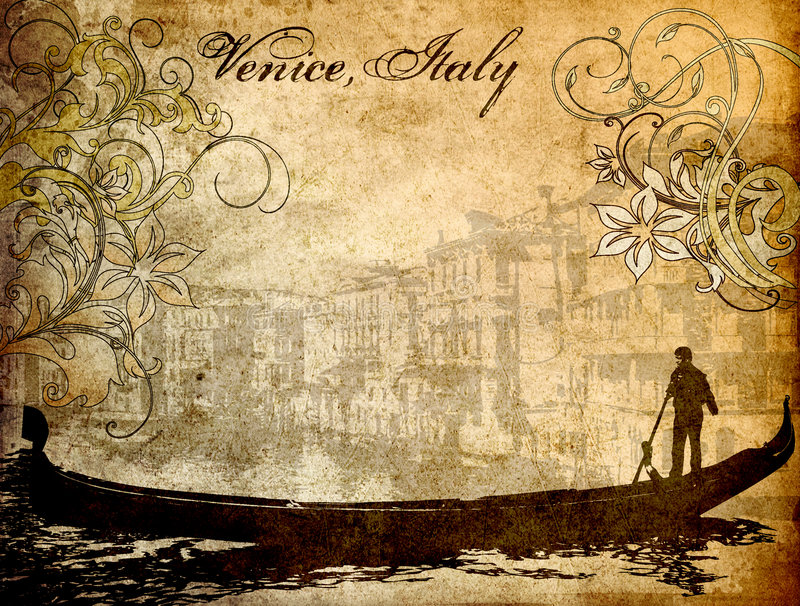 italy venice stock illustrationer