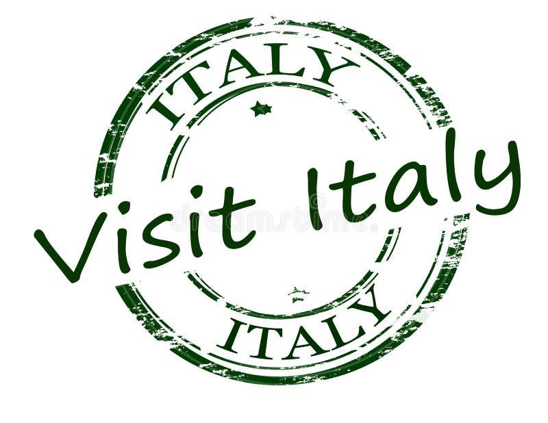 italy visit stock illustrationer