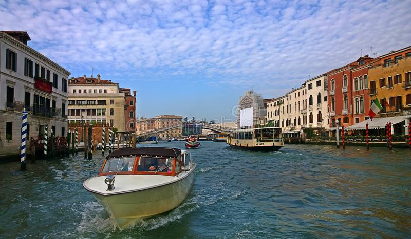 Italy. Walk through the streets and canals of Venice royalty free stock image