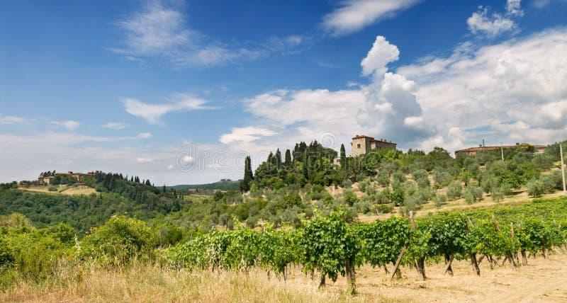 italy willa Tuscany fotografia stock