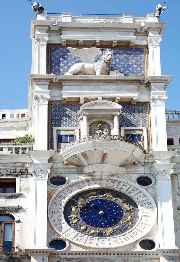 italy zegarowy zodiak Venice obraz stock
