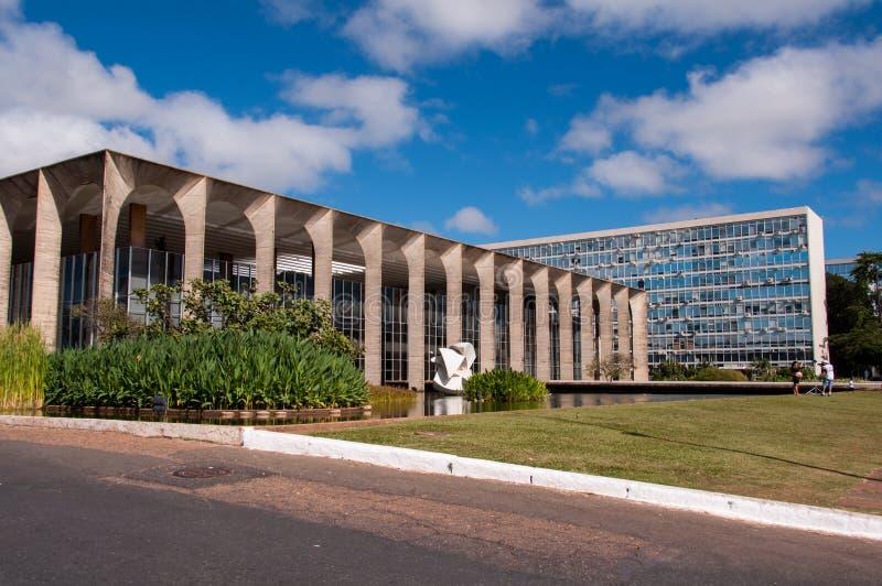 Itamaraty à Brasilia photos libres de droits