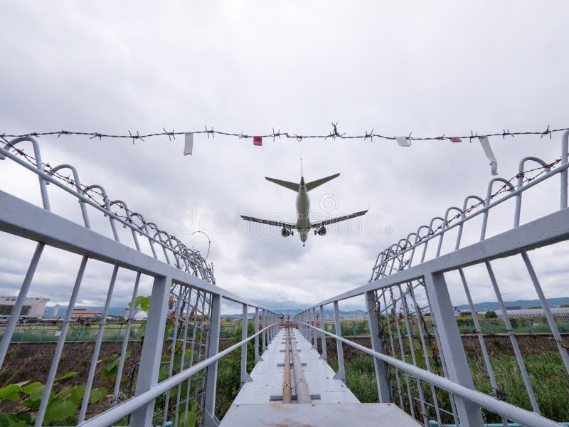 Itami flygplats i Japan royaltyfri foto