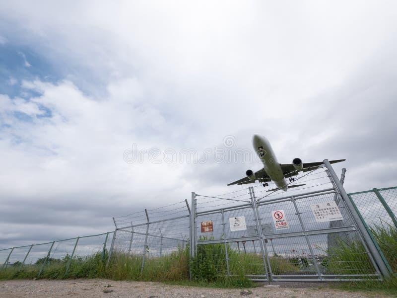 Itami flygplats i Japan fotografering för bildbyråer
