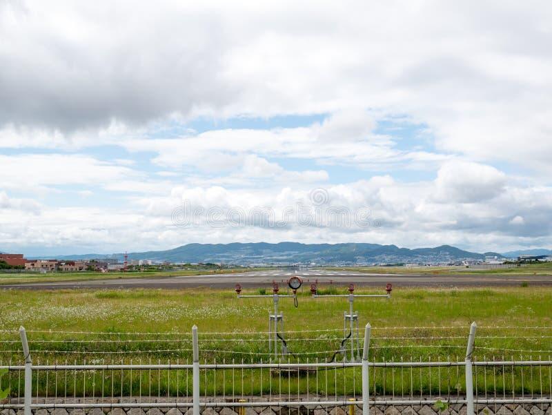 Itami lotnisko w Japonia obrazy stock