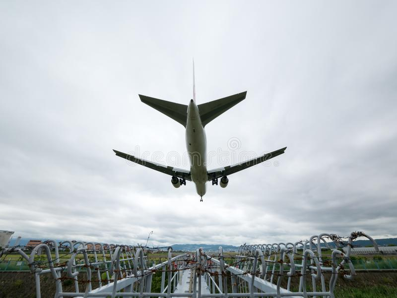 Itami lotnisko w Japonia fotografia stock