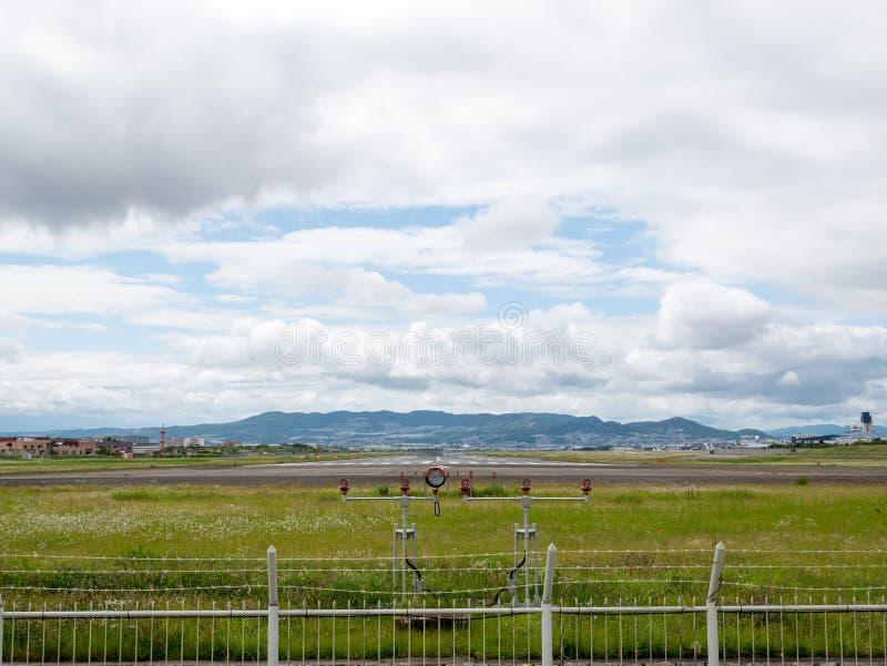Itami lotnisko w Japonia fotografia royalty free