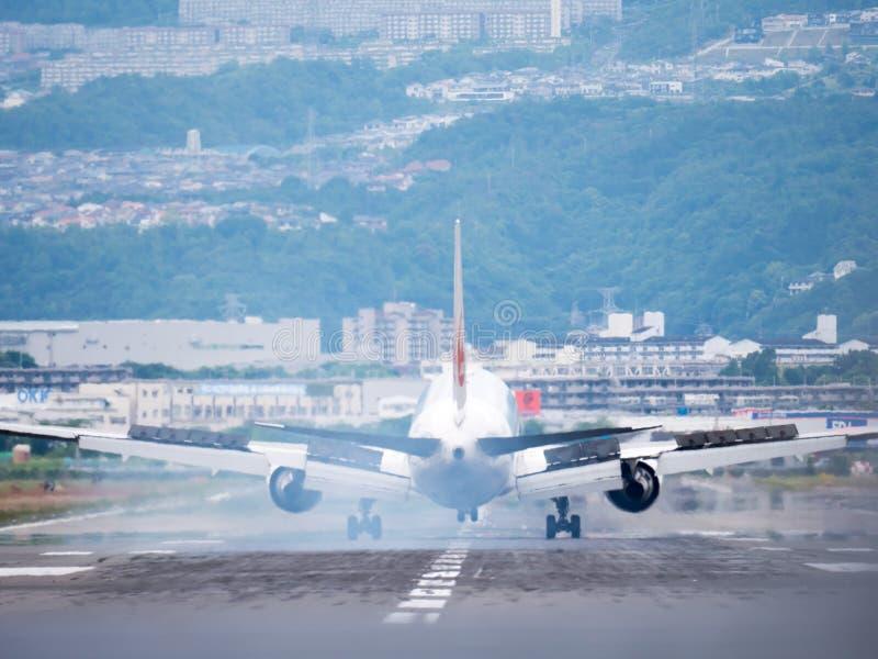 Itami lotnisko w Japonia zdjęcia royalty free
