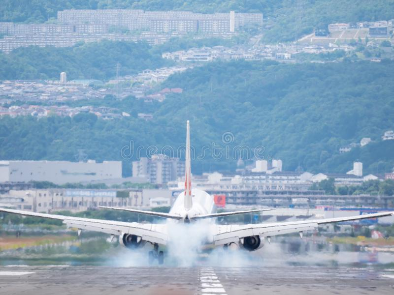 Itami Luchthaven in Japan royalty-vrije stock foto