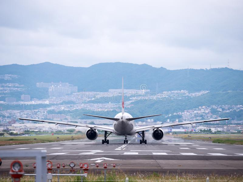 Itami Luchthaven in Japan stock foto's