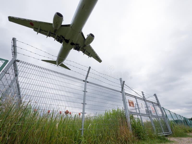 Itami Luchthaven in Japan royalty-vrije stock fotografie