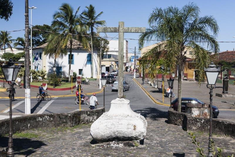 Itanhaemsao Paulo Brazil royalty-vrije stock afbeeldingen