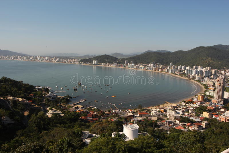 Itapema - Santa Catarina - le Brésil images libres de droits