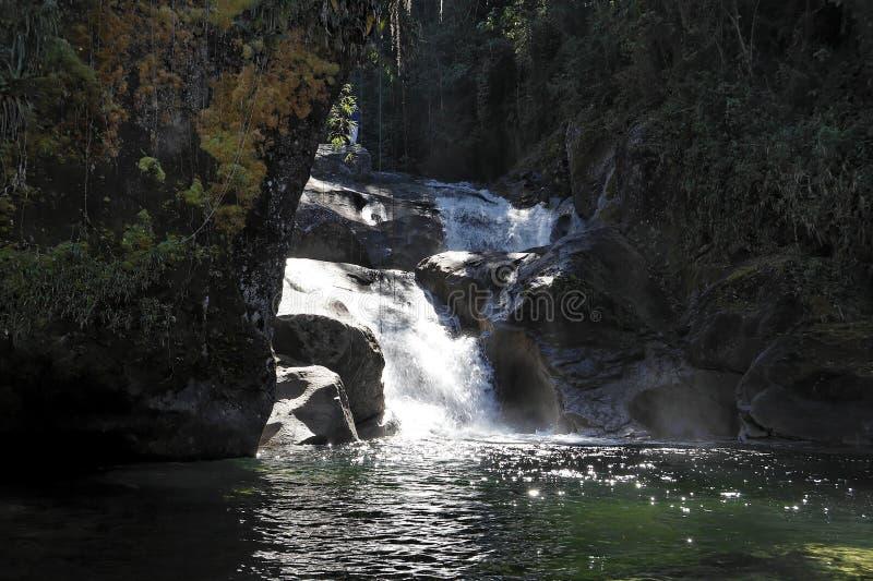itatiaia parku narodowego wodospadu obrazy stock