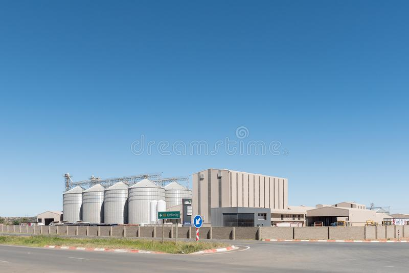 iTau Milling, corn, maize and animal feed provider in Bloemfontein royalty free stock images