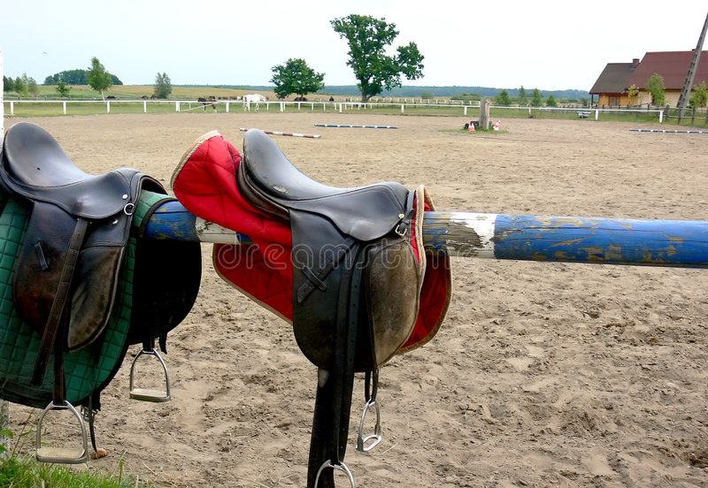 Item del montar a caballo fotos de archivo