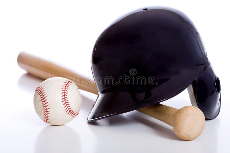 Items del béisbol foto de archivo