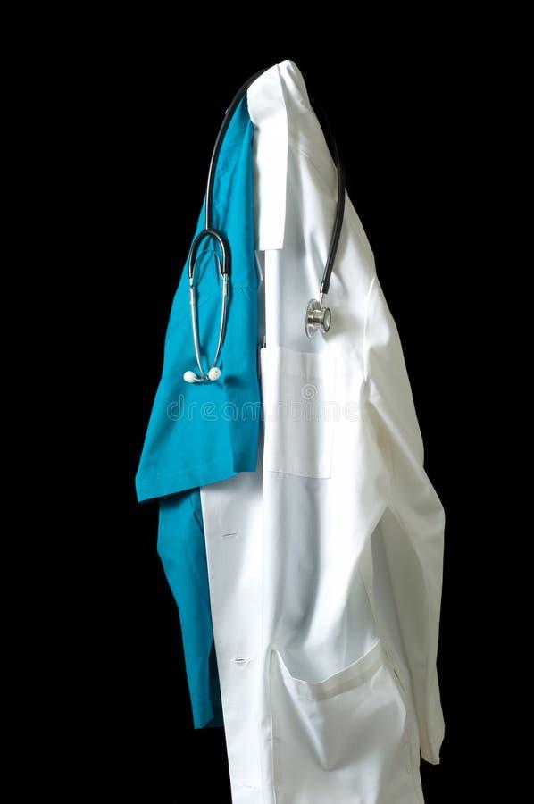Items del doctor fotos de archivo