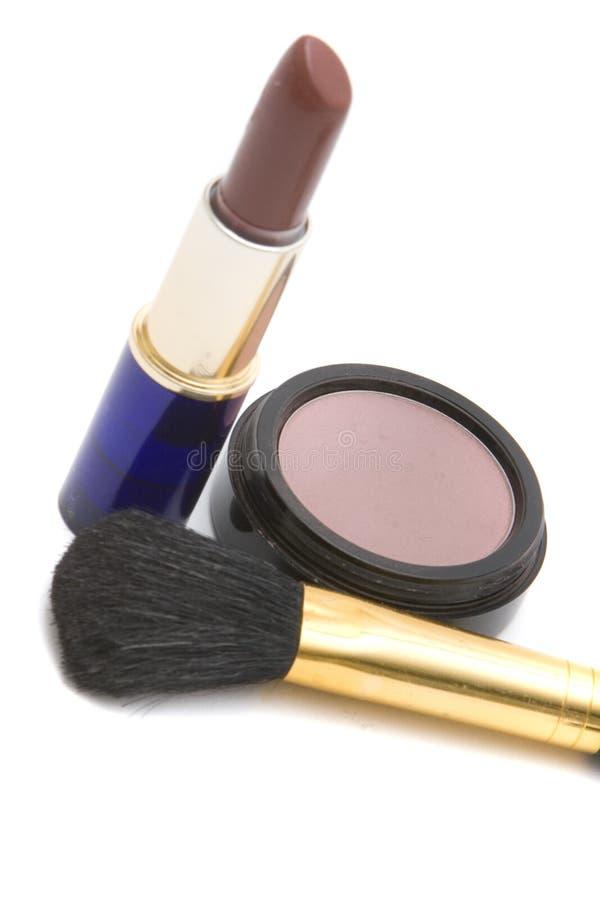Items del maquillaje imagenes de archivo
