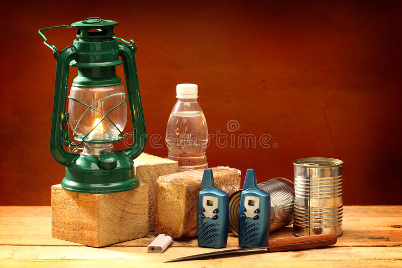 Download Items for emergency stock image. Image of cans, care - 23961143