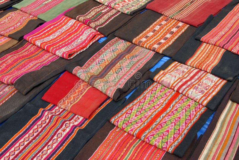Items handcrafted bolivianos foto de archivo
