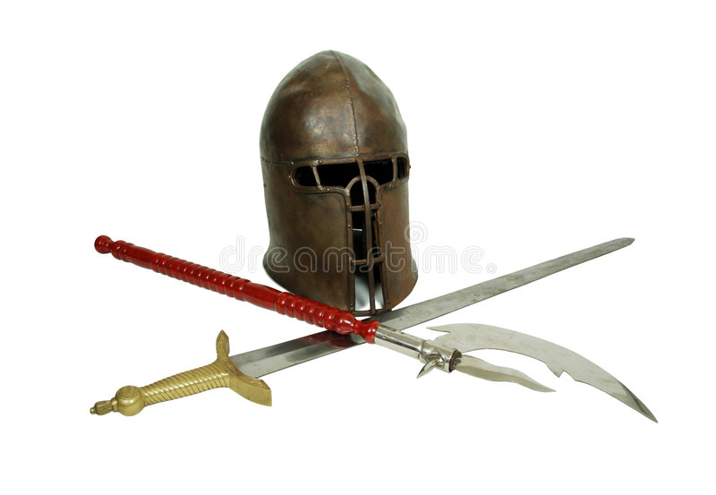 Items medievales imagen de archivo libre de regalías