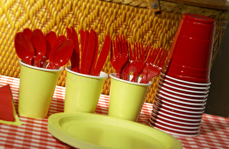 Download Items for picnic stock photo. Image of tablecloth, leisure - 22655072