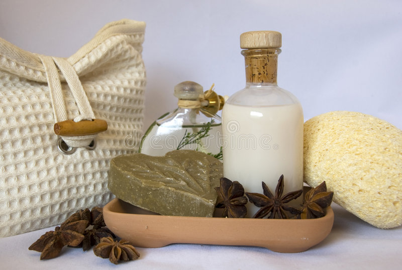 items spa στοκ εικόνα