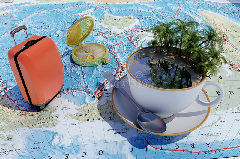 Download Tourism. stock illustration. Image of holiday, look, life - 29886147