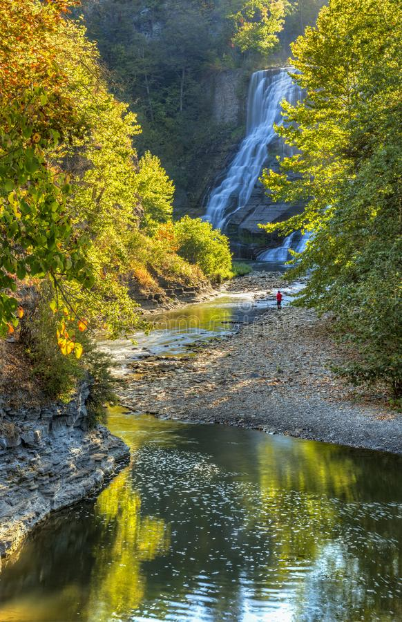 Free Ithaca Falls And Fall Creek Stock Photos - 106958253