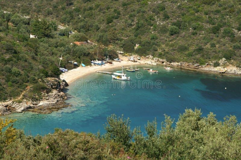 Ithaca - la Grecia immagini stock