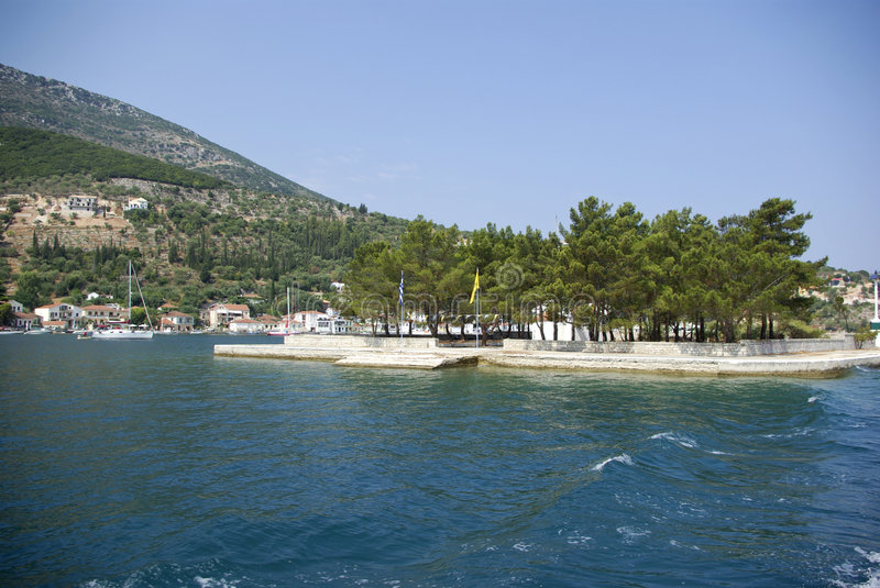Download Ithaca - Vathi stock image. Image of ionian, crystal, pine - 6481295