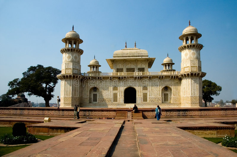 Itimad-ud-Daula's Tomb also known as Baby Taj stock photos