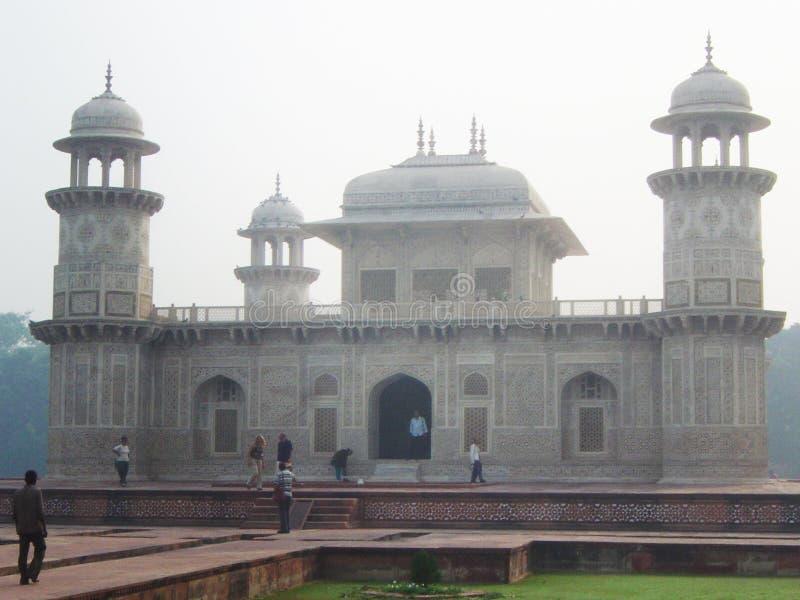Itimad ud daula tomb royalty free stock image