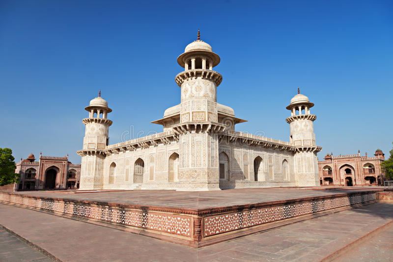 Download Itimad ud daulah palace stock image. Image of asian, india - 26930405