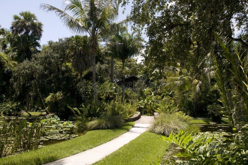 Itinéraire aménagé pour amateurs de la nature en Floride photographie stock