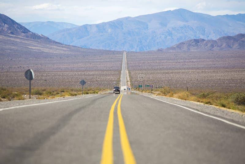 Itinéraire célèbre 40 dans le nord de l'Argentine (Ruta 40) photographie stock libre de droits