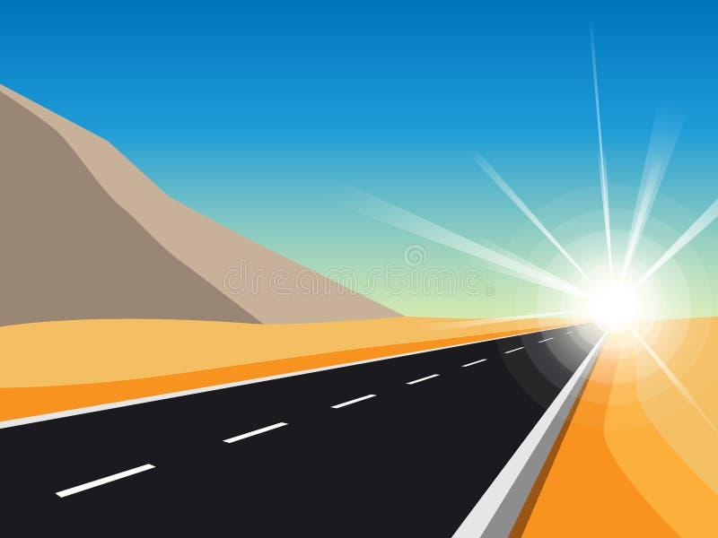 Itinéraire de voyage par la route et de voyage Route d'enroulement sur le fond de carte avec Pin Pointers Bannière abstraite de n illustration stock