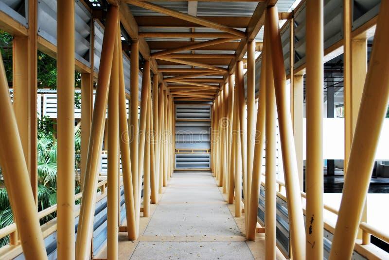 Itinéraire, pont photo stock